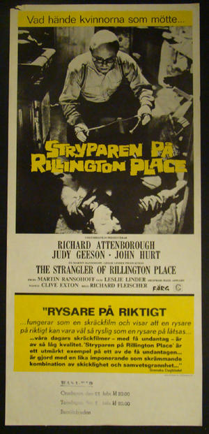 THE STRANGLER OF RILLINGTON PLACE (RICHARD ATTENBORUGH)