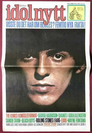 IDOLNYTT - No 6 1965 BEATLES (George) cover