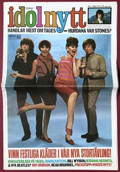 IDOLNYTT - No 7 1965 Tages cover