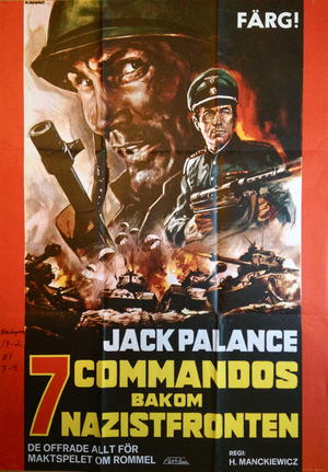 7 COMMANDOS BAKOM NAZISTFRONTEN (1969)