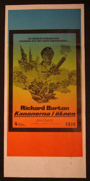 KANONERNA I ÖKNEN (RICHARD BURTON)