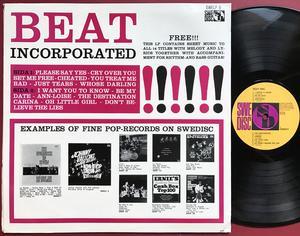 "BEAT INCORPORATED - ""same"" Swe-orig LP 1964"
