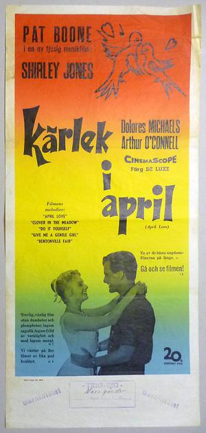 KÄRLEK I APRIL (1957)