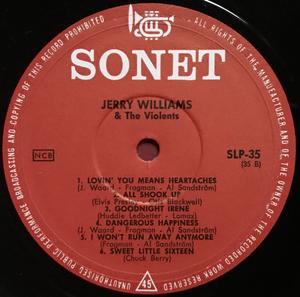 JERRY WILLIAMS - Mr. Dynamite Swe orig LP 1964