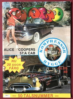 COLOROD - Nr 1 1979 ALICE COOPER omslag