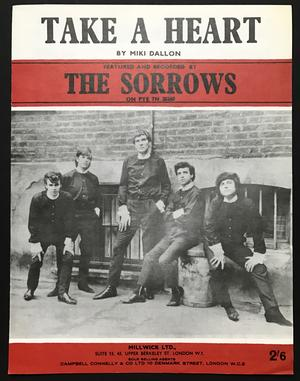 The SORROWS - Take a heart Nothäfte 1965