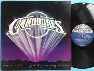 COMMODORES - Midnight magic SIGNERAD LP med LIONEL RICHIE 1979