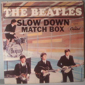"BEATLES - Slow down 7"" US 1965 PS"