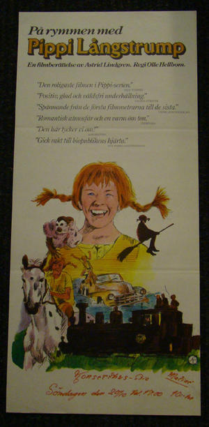 PIPPI ON THE RUN (INGER NILSSON, BEPPE WOLGERS)