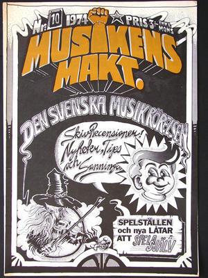 MUSIKENS MAKT no 10, 1974