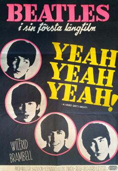 BEATLES - A HARD DAY´S NIGHT (1964)