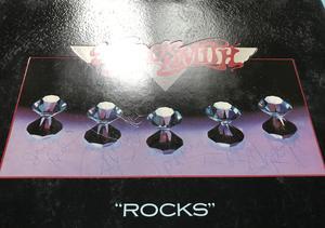 AEROSMITH - Rocks SIGNED Holl-orig LP 1976