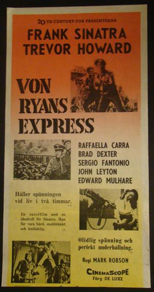 VON RYANS EXPRESS (FRANK SINATRA, TREVOR HOWARD)