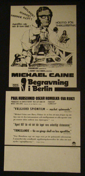 BEGRAVNING I BERLIN (MICHAEL CAINE)