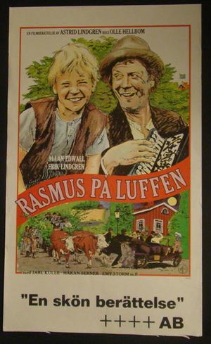RASMUS PÅ LUFFEN (ALLAN EDVALL,ERIK LINDGREN)