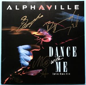 "ALPHAVILLE - Dance with me SIGNED 12"" 1986"