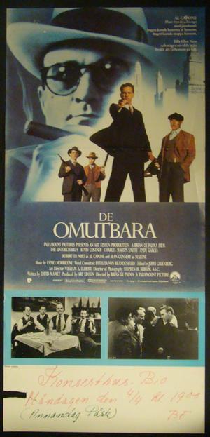 DE OMUTBARA (DE NIRO, CONNERY, COSTNER)
