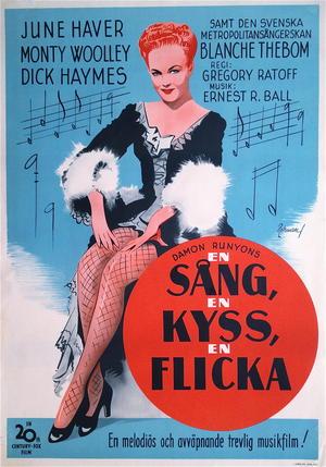 EN SÅNG, EN KYSS, EN FLICKA (1944)