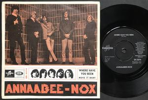 ANNAABEE-NOX - Where have you been / Move it baby Swe PS 1965