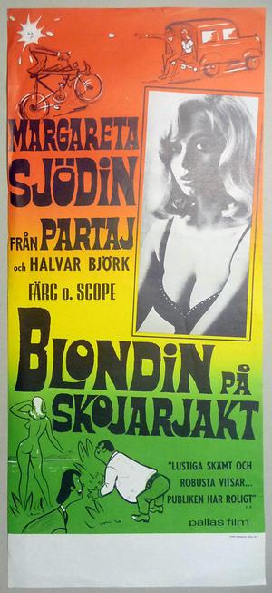BLONDIN PÅ SKOJARJAKT (1969)