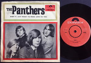 PANTHERS - Baby / I just want to make love to you Swe PS 1965