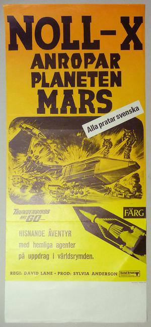 NOLL-X ANROPAR PLANETEN MARS (1966)