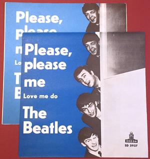 "BEATLES -  Please, please me 7"" Swe 1965 PS"