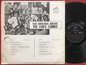 CON´S COMBO - Los fabulosos suecos Chile-orig LP 1969
