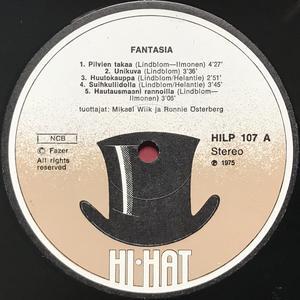 """FANTASIA - """"same"""" Finsk-orig LP 1975"""