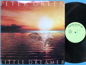 PETER GREEN - Little dreamer Swe-orig TESTPRESS LP 1980
