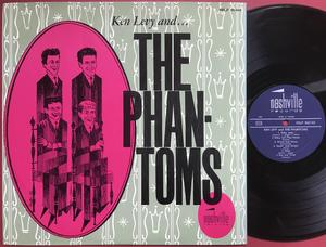"KEN LEVY & PHANTOMS - ""same"" Swe-orig LP 1964"