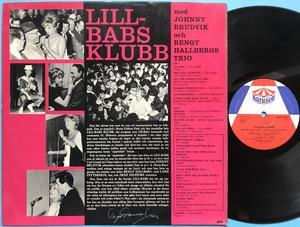 LILL-BABS KLUBB - Splorr! Swe-orig LP 1962