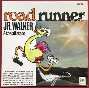 JR. WALKER & the ALLSTARS - Roadrunner UK-orig LP 1966