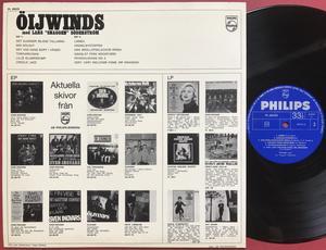 """ÖIJWINDS - Med Lars """"Snaggen"""" Söderström Swe-orig LP 1964"""
