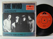 "THE WHO - Substitute 7"" Swe 1967"