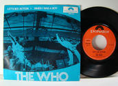 "THE WHO - Let´s se action 7"" Norway 1971"