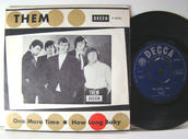 "THEM  - One more time  7"" Swe/UK 1965"