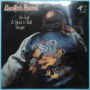 LUCIFER´S FRIEND - I´m just a rock´n´roll singer US-orig LP 1973 OÖPPNAD!