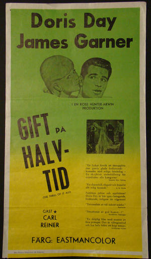 GIFT PÅ HALVTID DORIS DAY,JAMES GARNER)