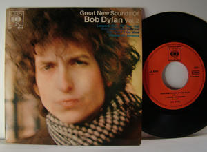 BOB DYLAN - Great new sounds of...vol 2 - Rare 1967 GER EP