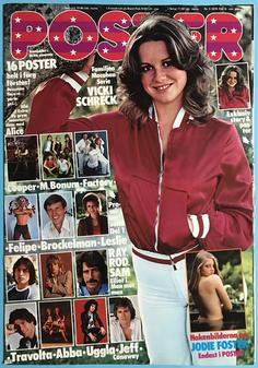 POSTER Mag - No 5 1979 - UNFOLDED!