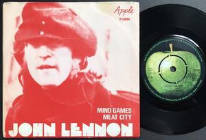 JOHN LENNON - Mind games Swe PS 1973