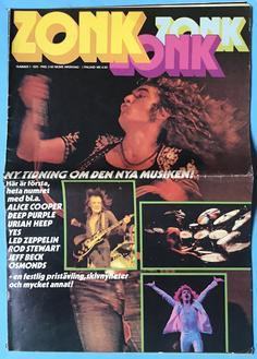 ZONK - Nr 1 1973 LED ZEPPELIN omslag