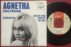 AGNETHA FÄLTSKOG - Zigenarvän Swe BLÅ PS 1969